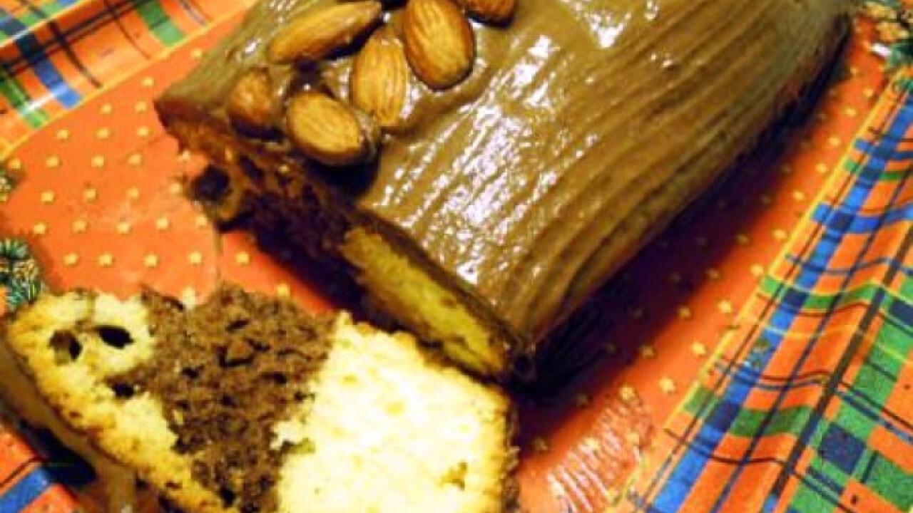 Mandulás-csokoládés őzgerinc lekvárral