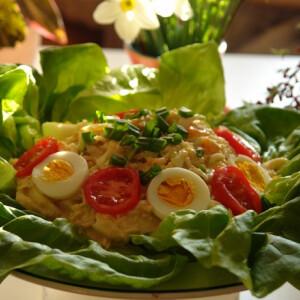 Zelleres-majonézes tojássaláta