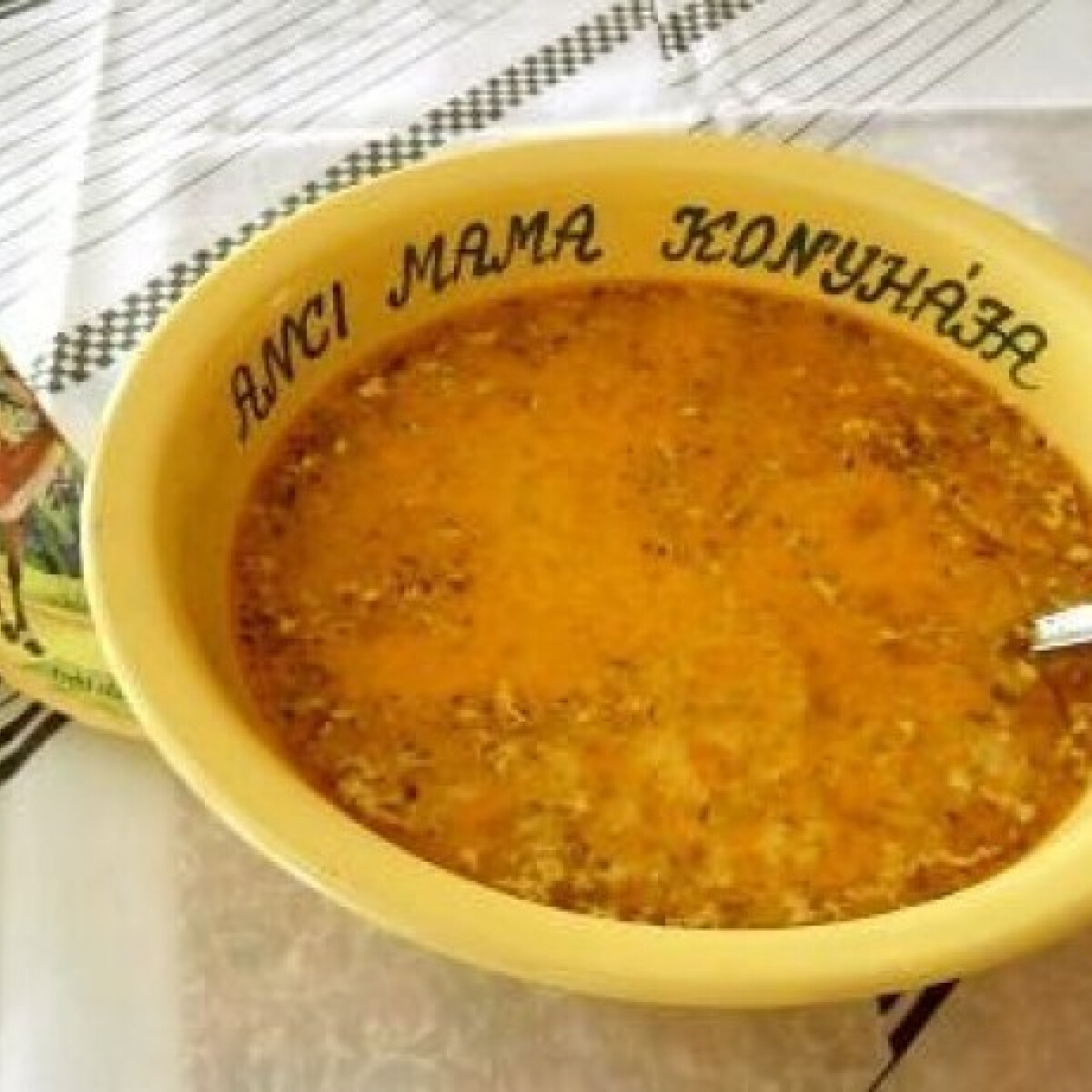 Ezen a képen: Legényfogó leves 3. - húsgombóccal