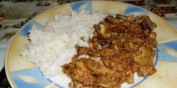 Hagymás-szalonnás csirkemáj