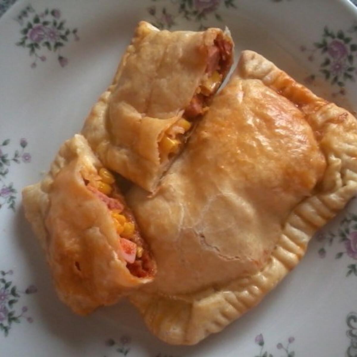 Ezen a képen: Pizzás táska VéTimi konyhájából