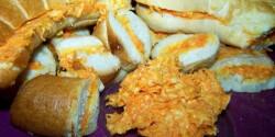 Sárgarépás szendvicskrém füstölt sajtosan