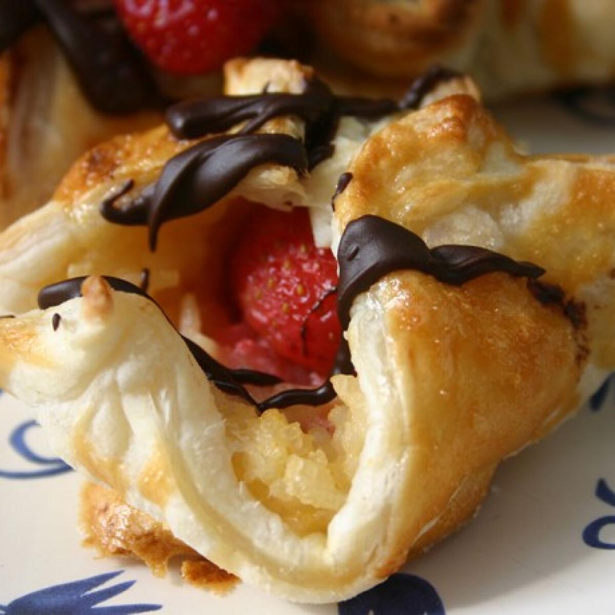 Ezen a képen: Tejberizses epres süti