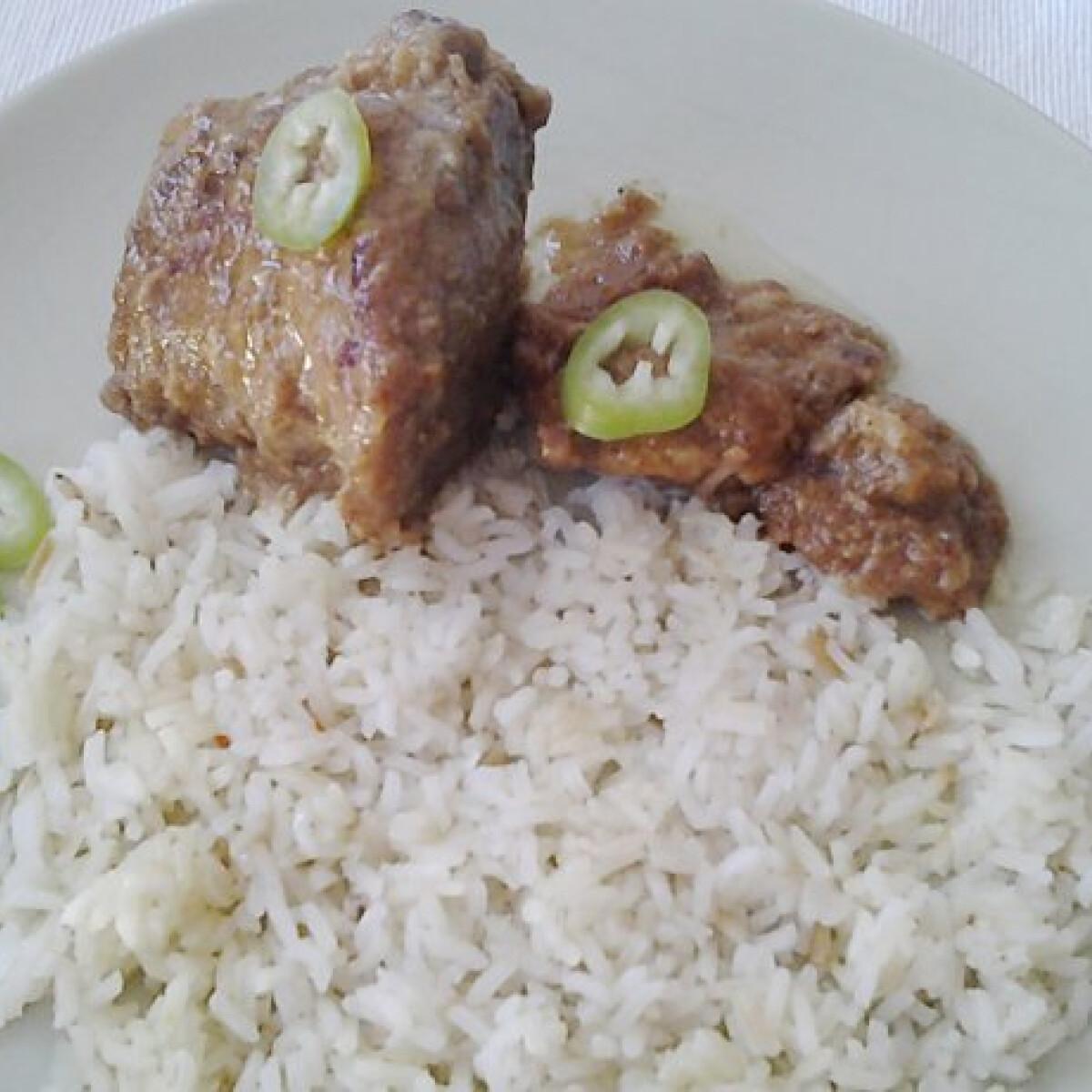 Ezen a képen: Egybensült hús Csöpp konyhájából