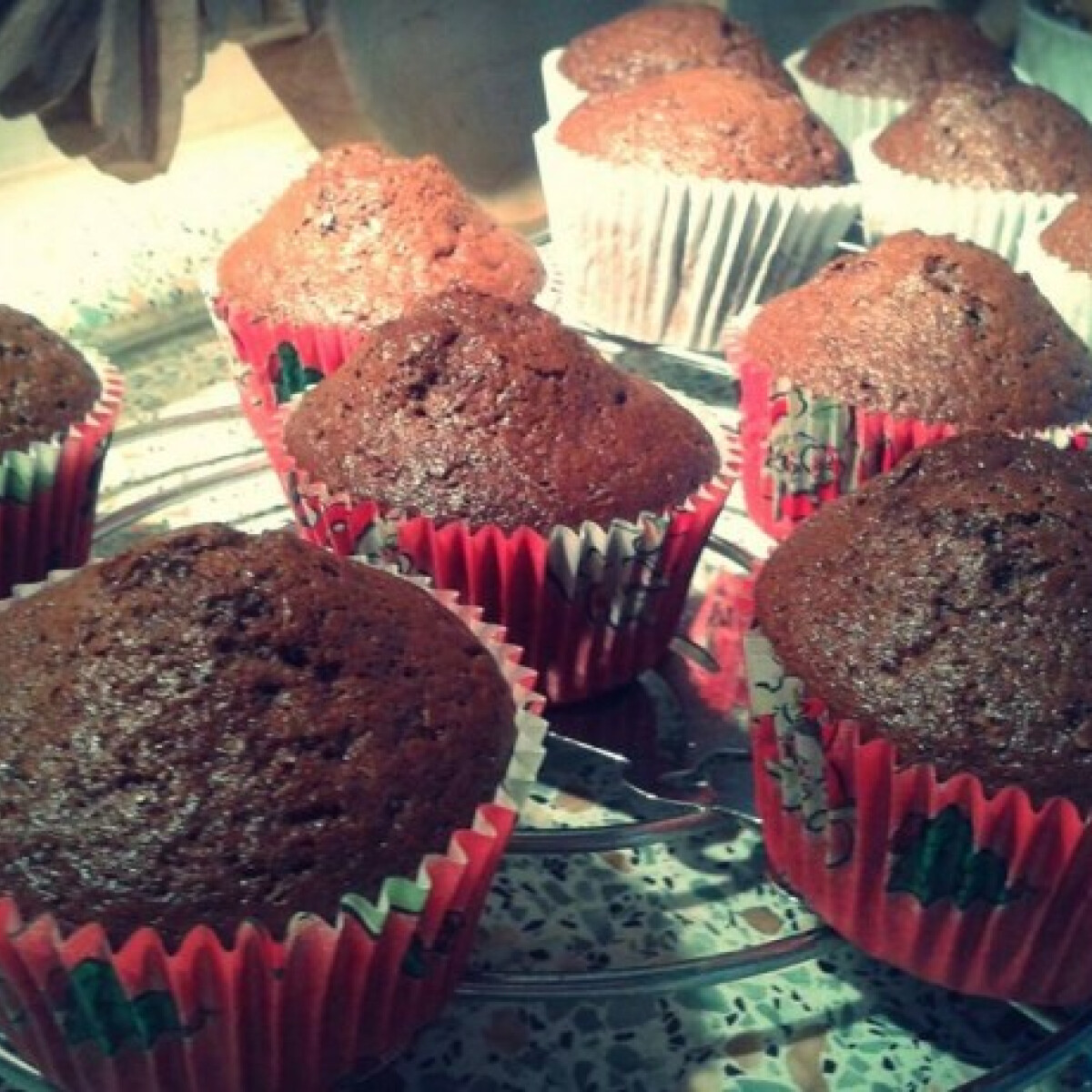 Ezen a képen: Csokis muffin Timejjától