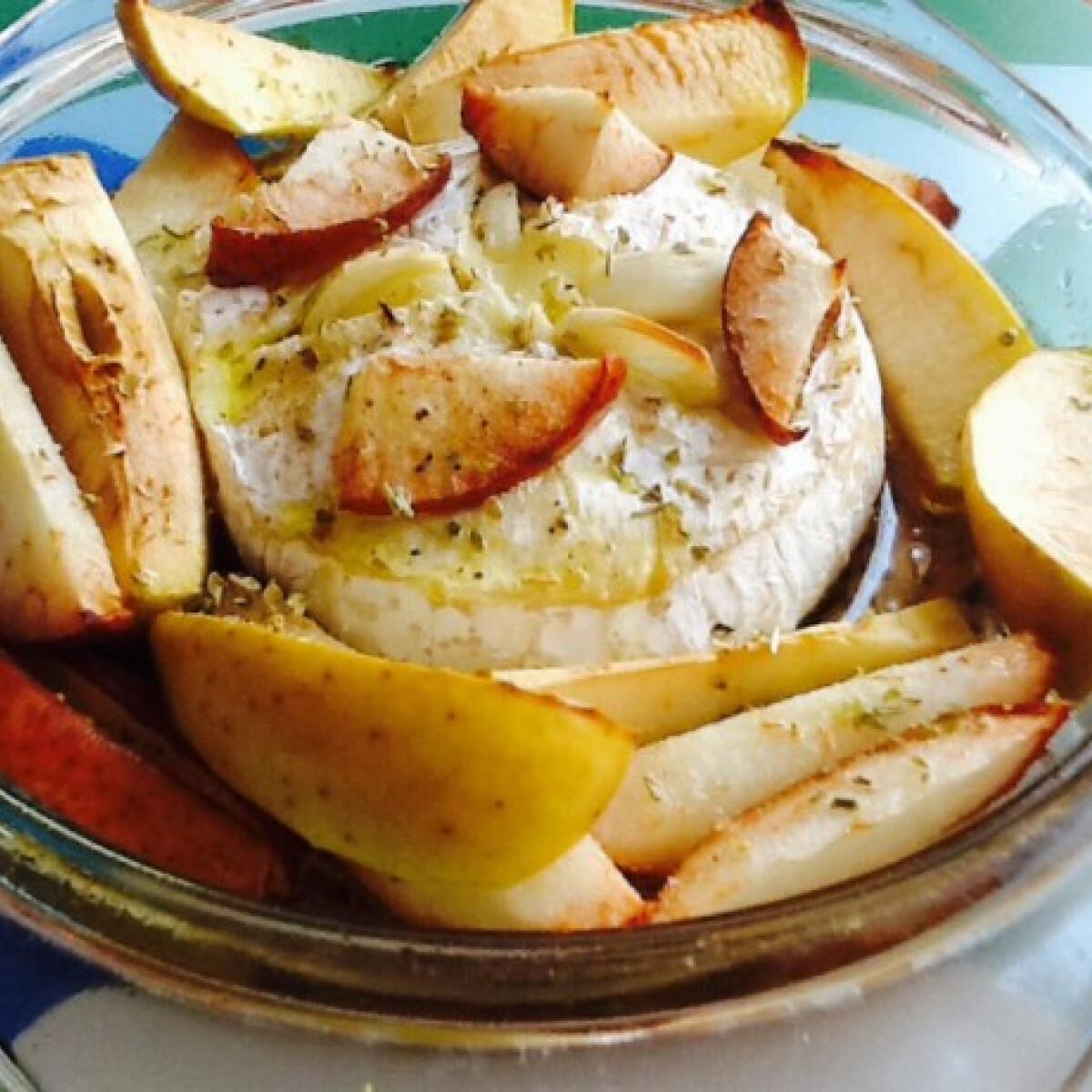 Ezen a képen: Camembert sült fokhagymával