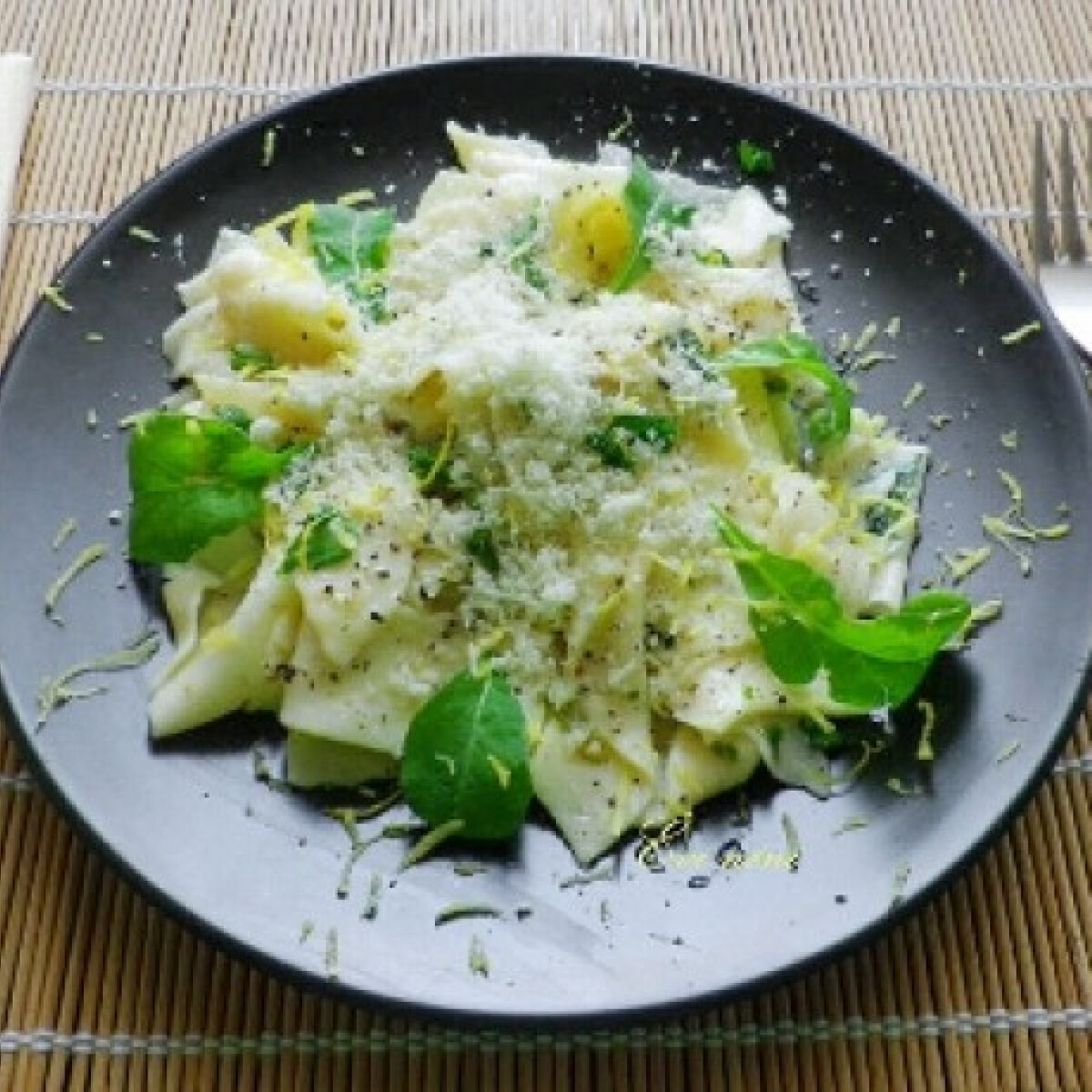 Tagliatelle al limone - citromos tészta