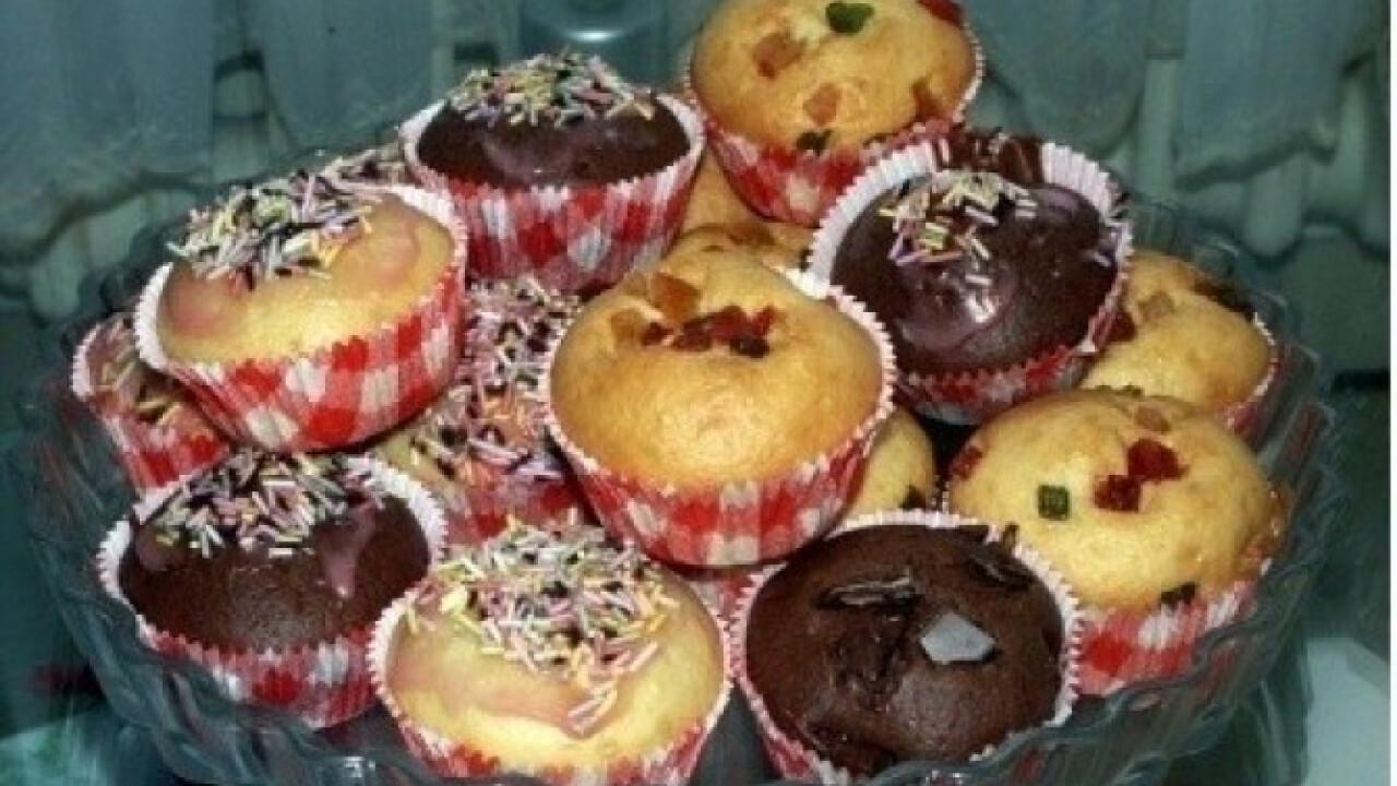 Muffin alaprecept 3.