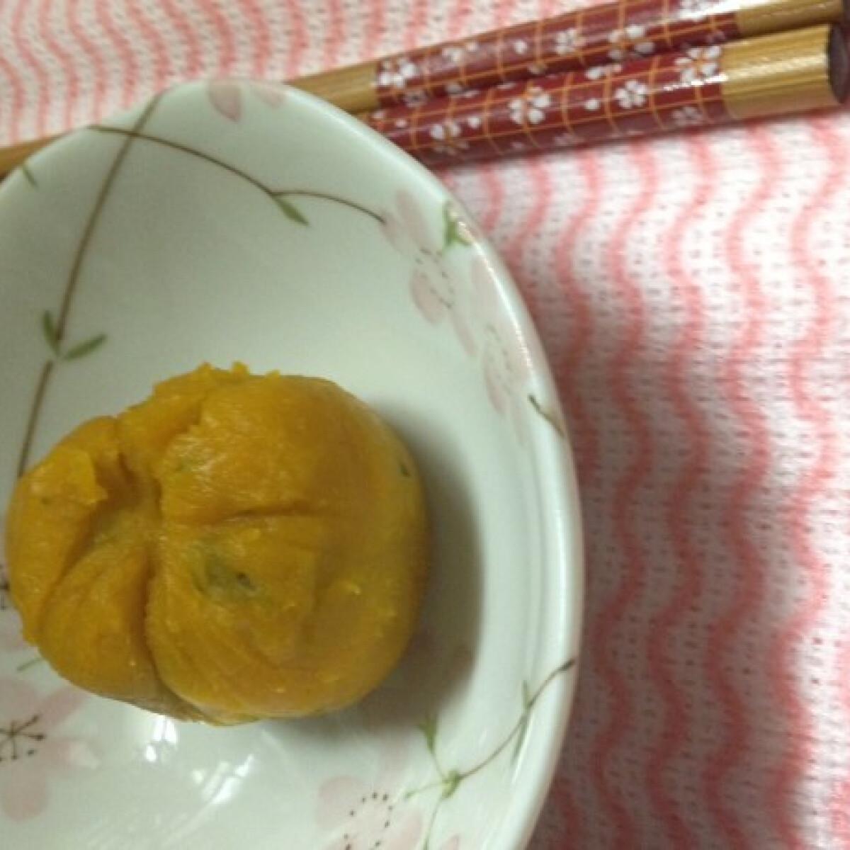 Ezen a képen: Japán édesség tökből