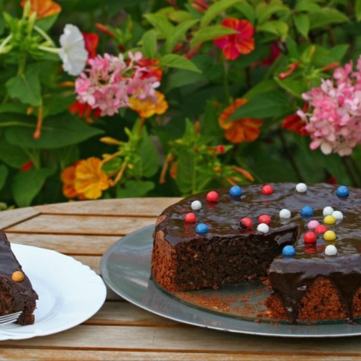 Ezen a képen: Francia csokoládétorta Mni konyhájából