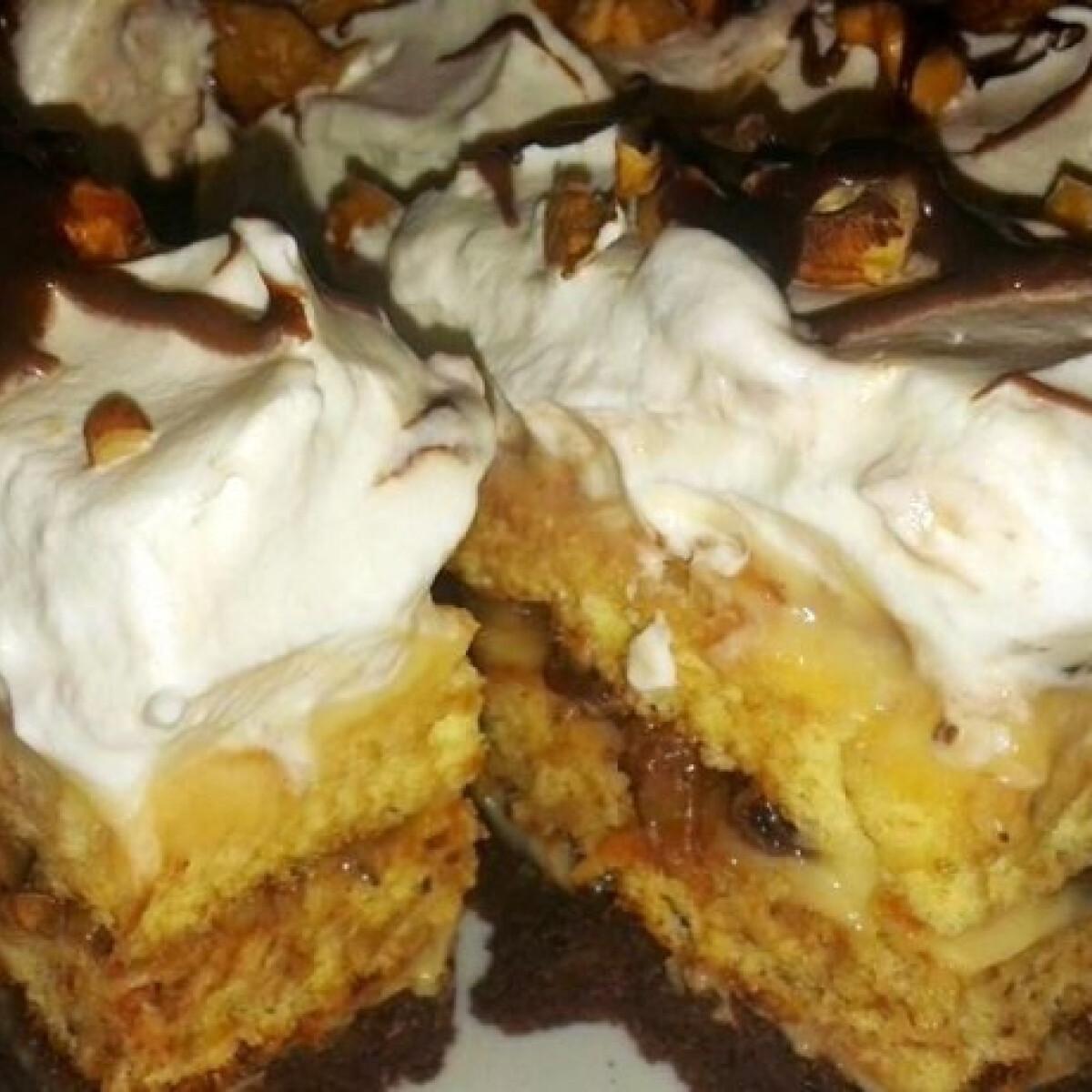 Ezen a képen: Somlói kocka SweetSzenilla konyhájából