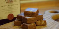Csokoládés fudge whiskyvel