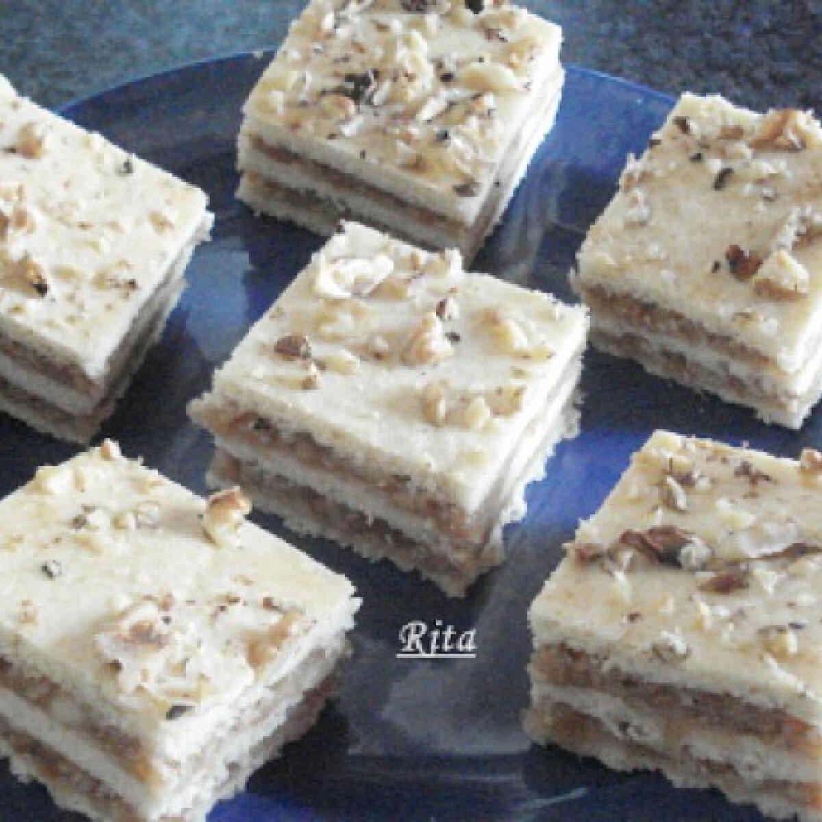Ezen a képen: Almás süti TraRita konyhájából