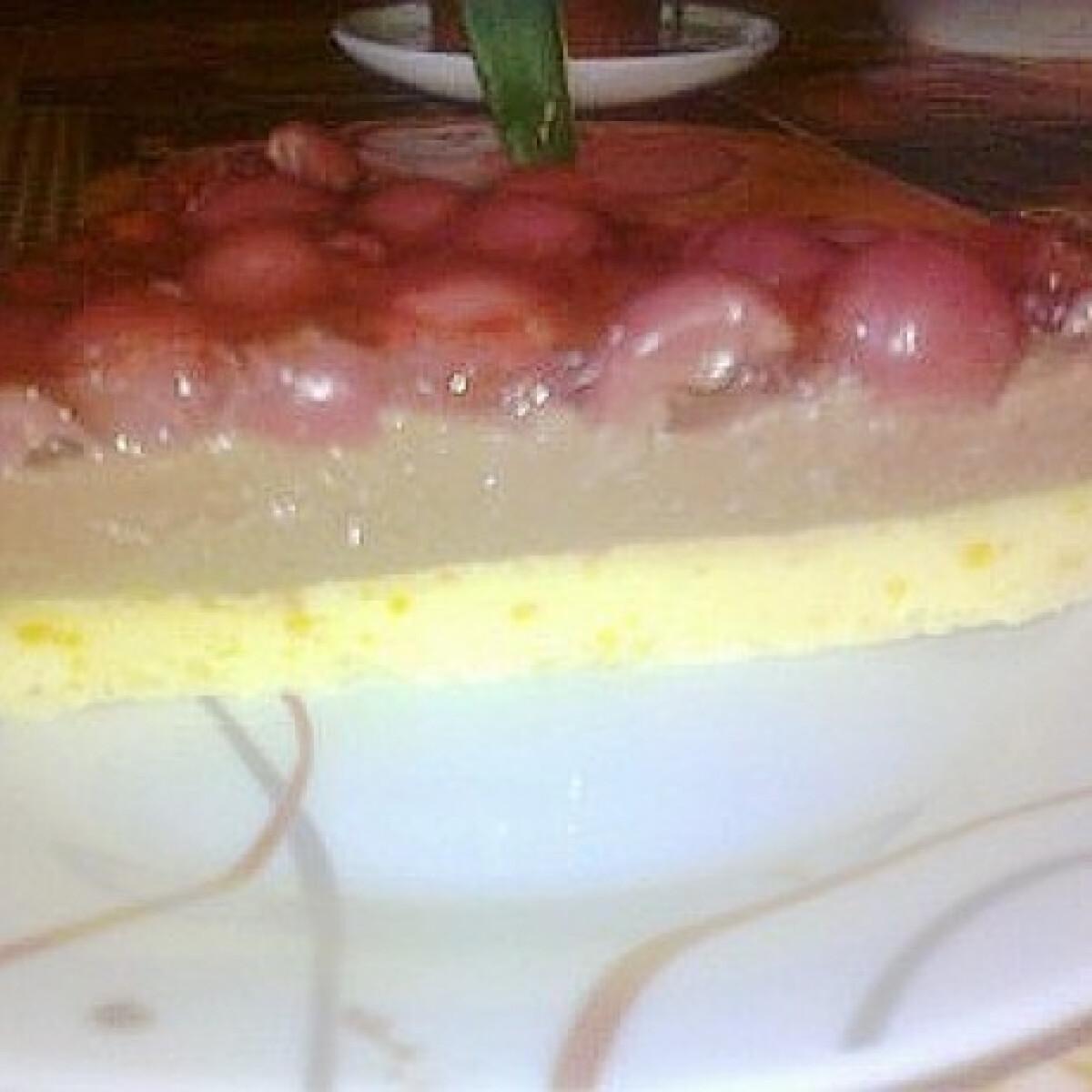 Ezen a képen: Pudinos-meggyes sütemény 3.