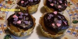Kávés-őszibarackos muffin