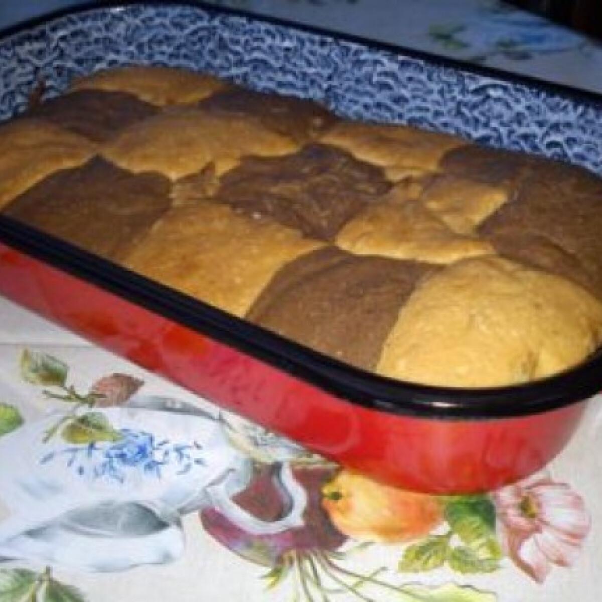 Ezen a képen: Tarkabarka sütemény