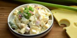 Zelleres sajtsaláta