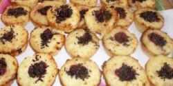 Rizskók muffin