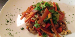 Halfilé friss grill zöldségekkel