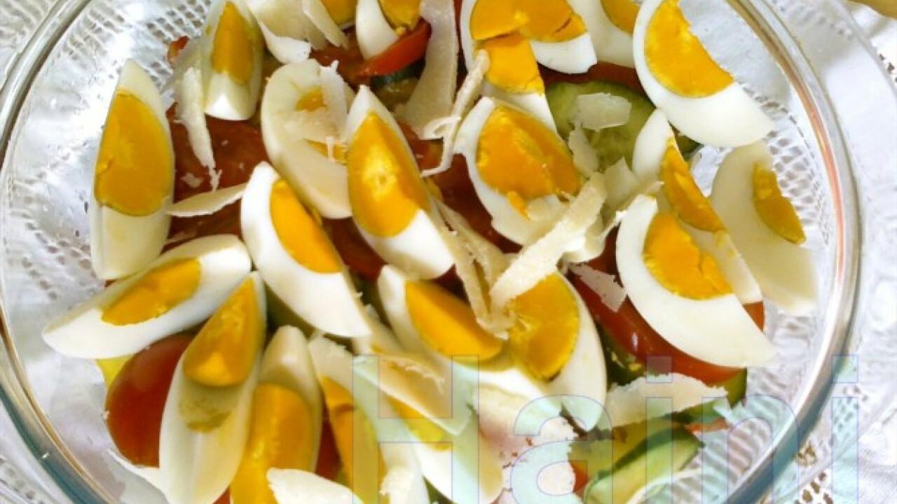 Négysajtos saláta
