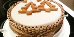 Karácsonyi Rigó Jancsi torta