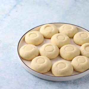 Makadámdiós, fehér csokoládés keksz