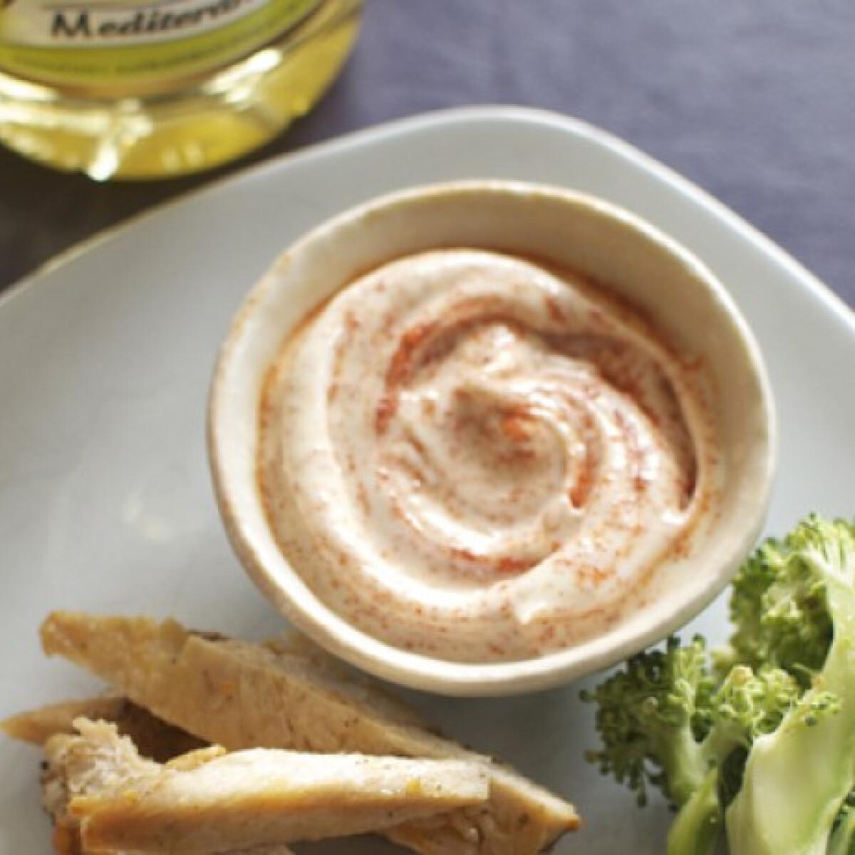 Ezen a képen: Füstölt paprikás majonéz