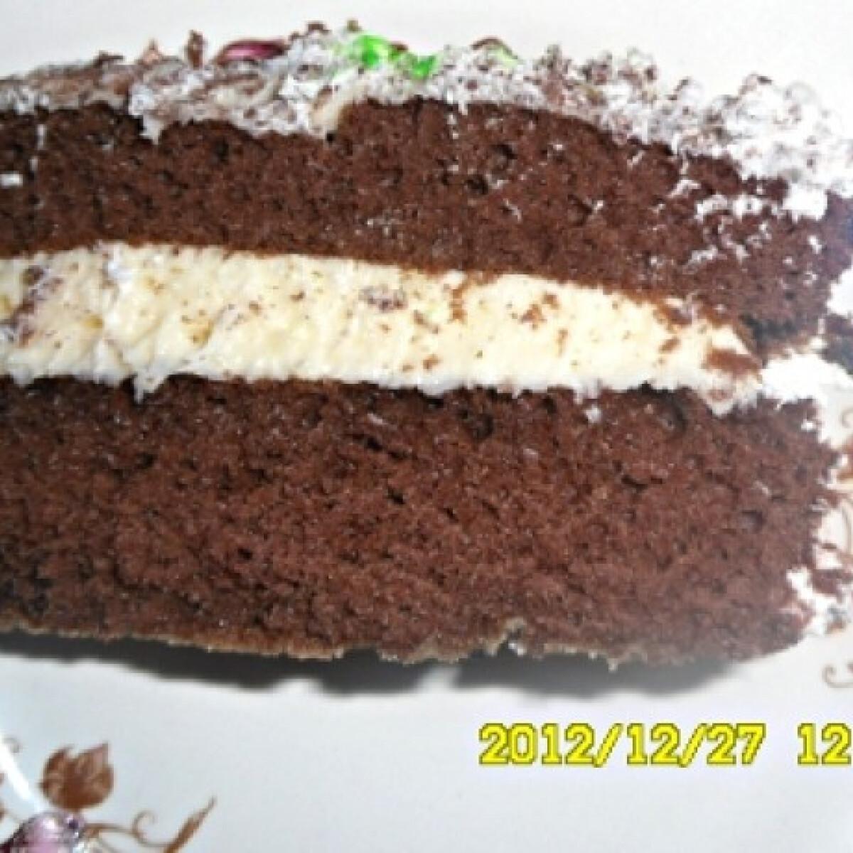 Ezen a képen: Gyors mascarponés torta Kisvikicától