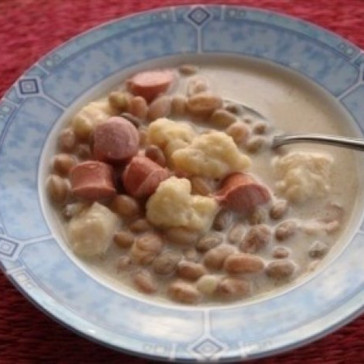 Ezen a képen: Fejtettbab leves (Bableves 4.)
