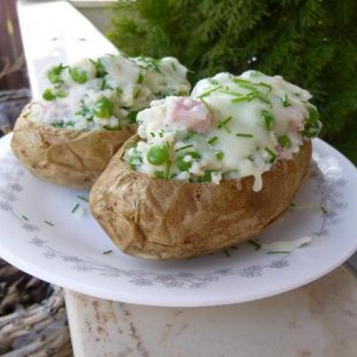 Ezen a képen: Tavaszi töltött krumpli witch konyhájából