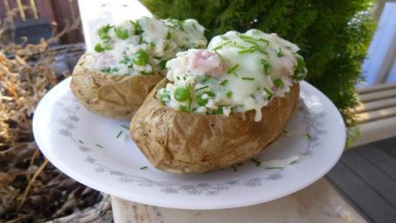 Tavaszi töltött krumpli witch konyhájából