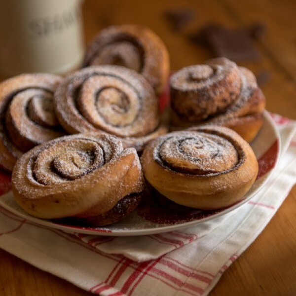 Kakaóscsiga-muffin