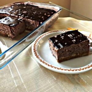 Csokihabos - sütés nélkül