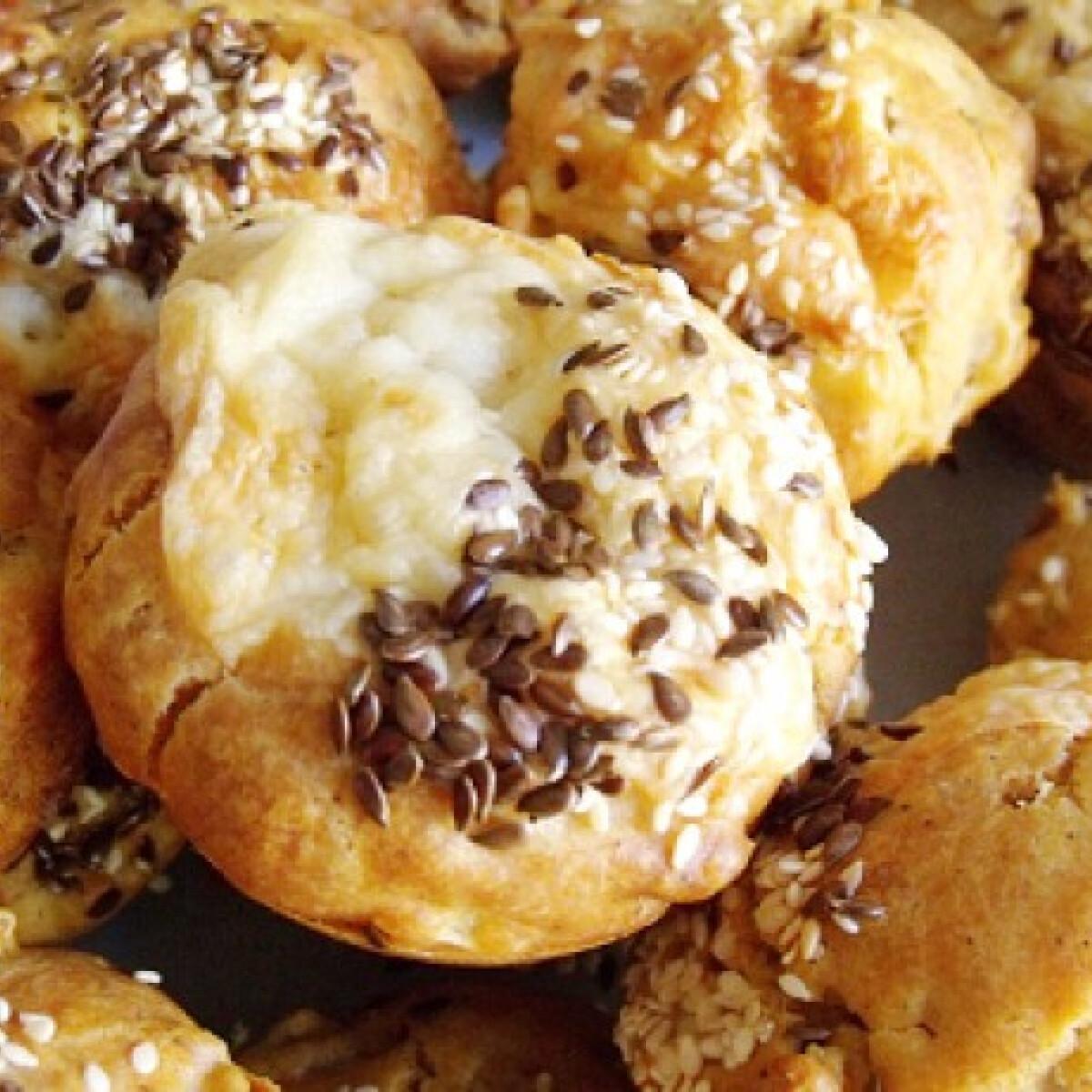 Ezen a képen: Sonkás-hagymás muffin
