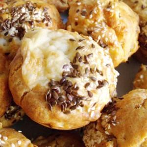 Sonkás-hagymás muffin