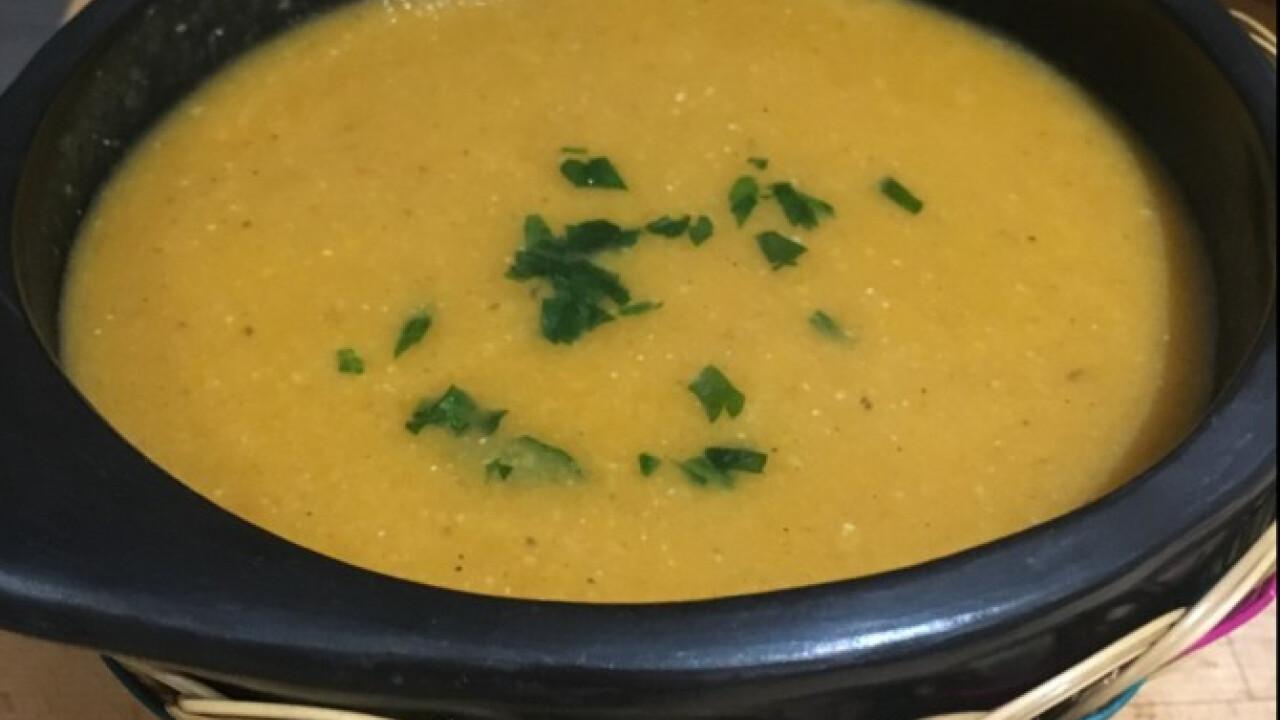 Török vöröslencse-leves