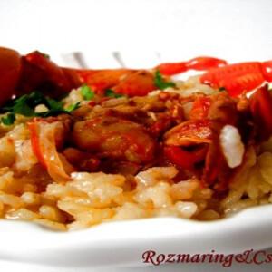 Homár risotto Szardínia szigetéről