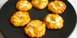 Almás-mézes keksz
