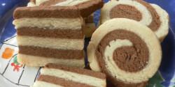 Kakaós-fahéjas csíkos keksz