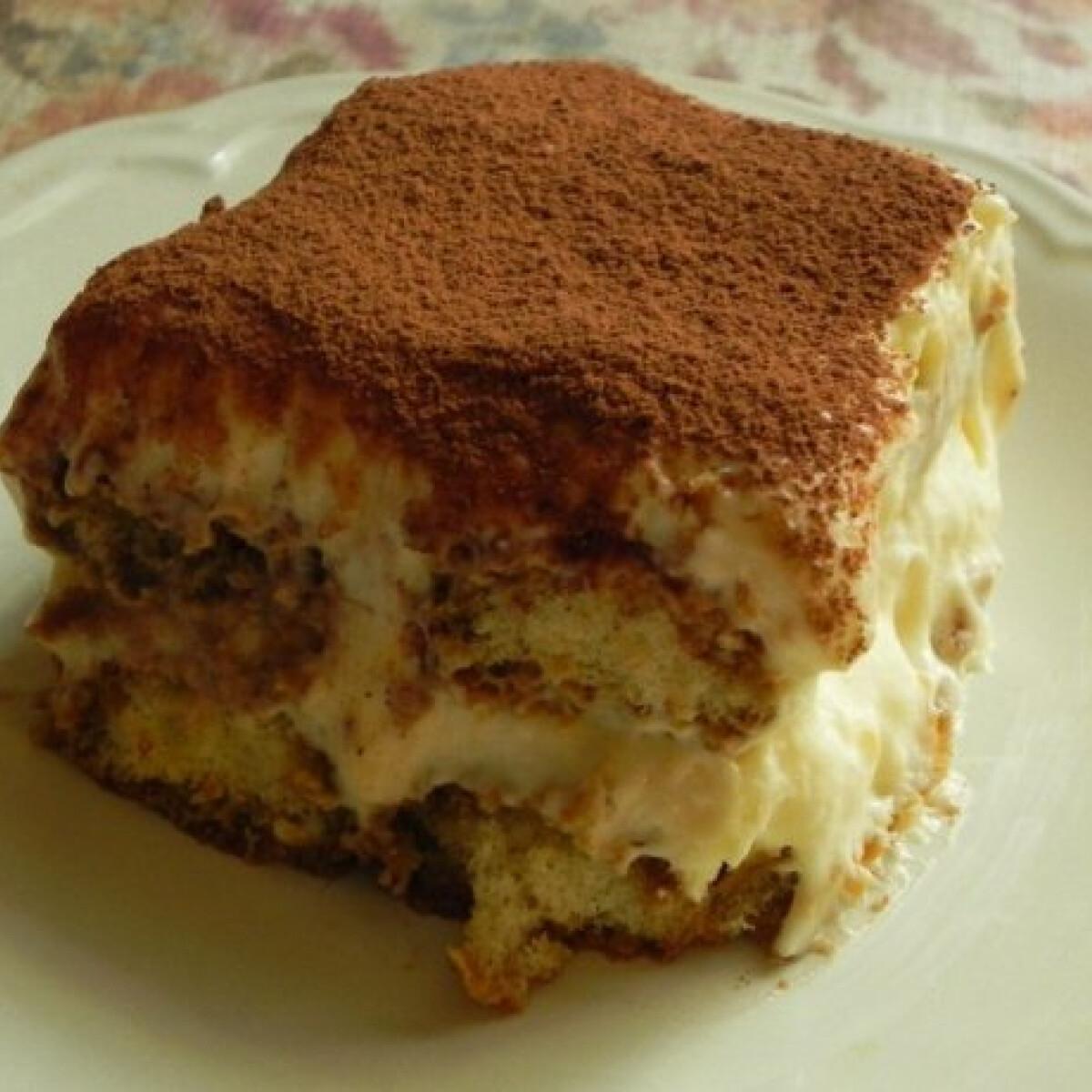 Ezen a képen: Tiramisu - Zsuffa konyhájából