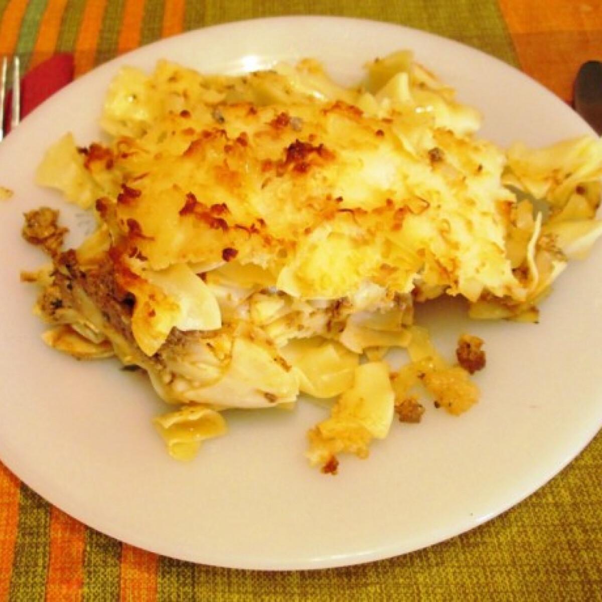 Ezen a képen: Azonnal eltűnő lasagne