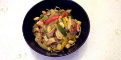 Thai csirke Évi néni konyhájából