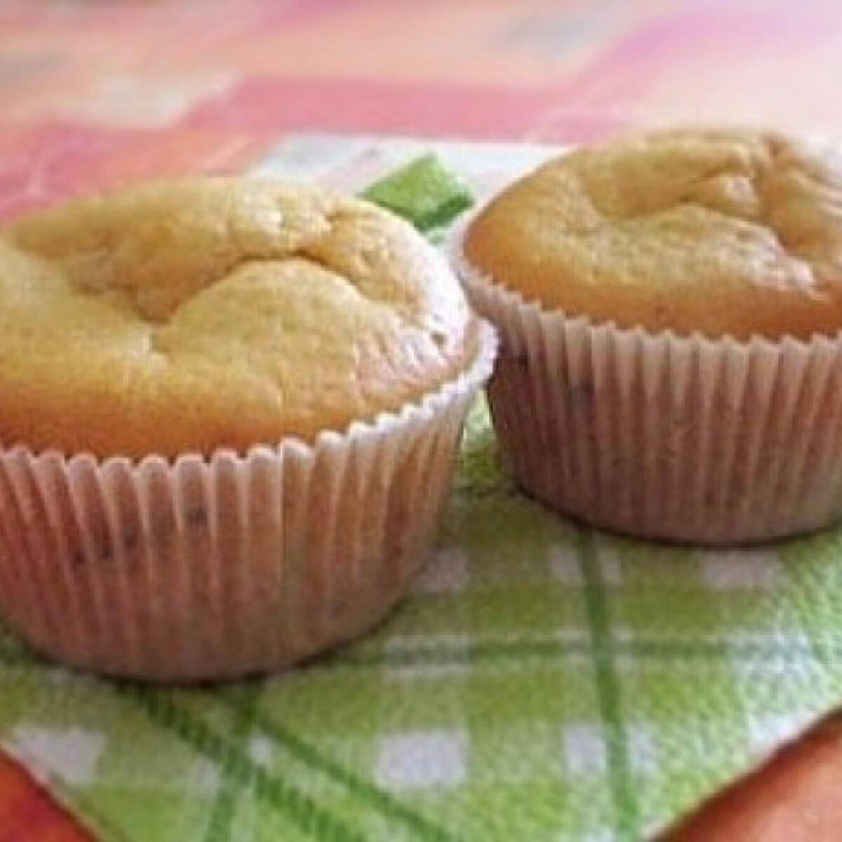 Ropogós mézes muffin