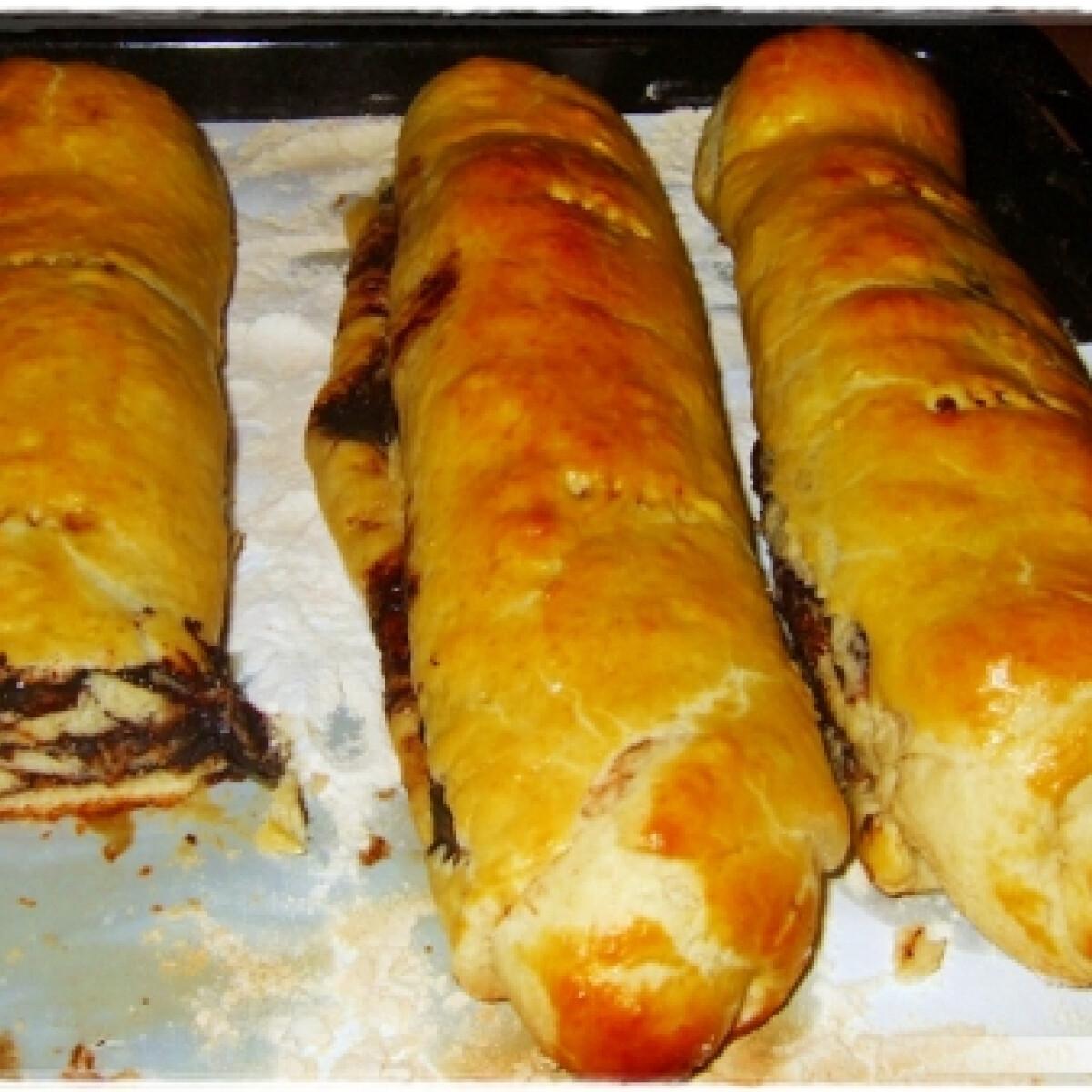Ezen a képen: Kakaós bejgli PlatinaLazac konyhájából