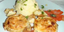 Almás-sajtos sertésborda