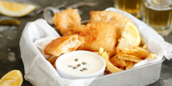Fish and chips Dacotától