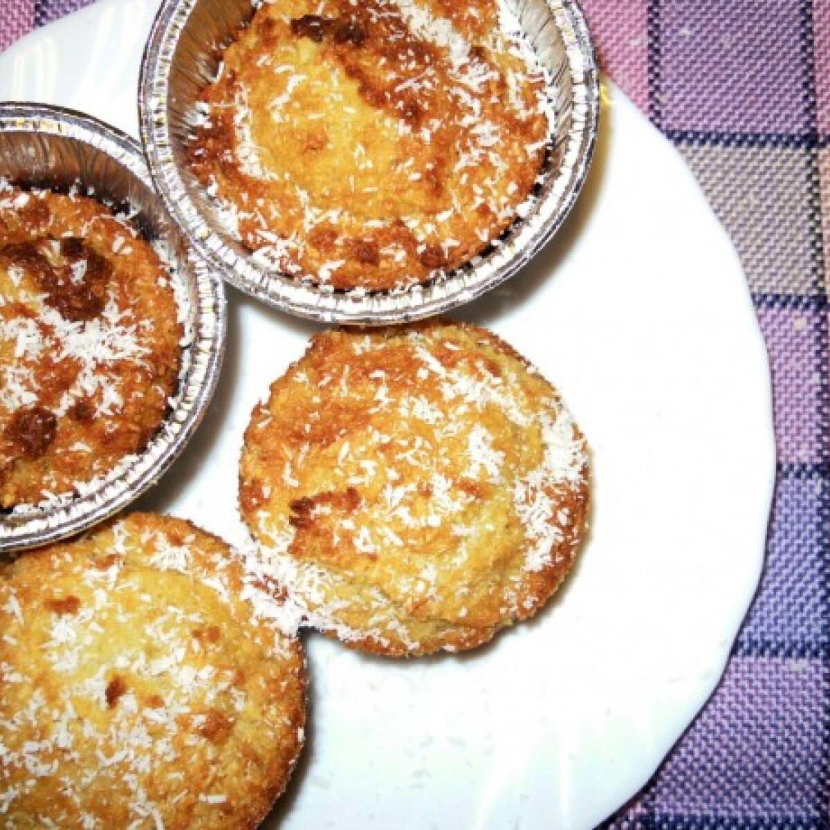 Csupa kókusz muffin
