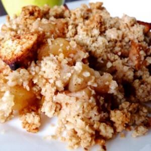 Apple crumble liszt- és cukormentes