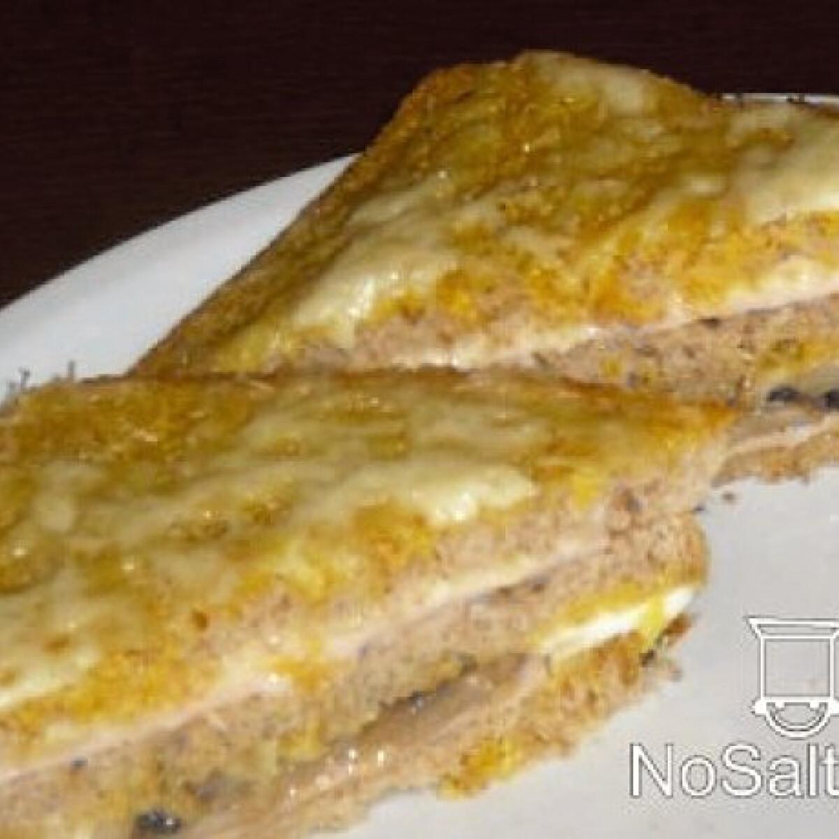 Ezen a képen: Tojásban sült kenyér gombával