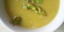 Spárgakrémleves Baklavaria konyhájából